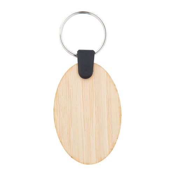 Bambry — бамбуковый брелок, круглый AP718370-B