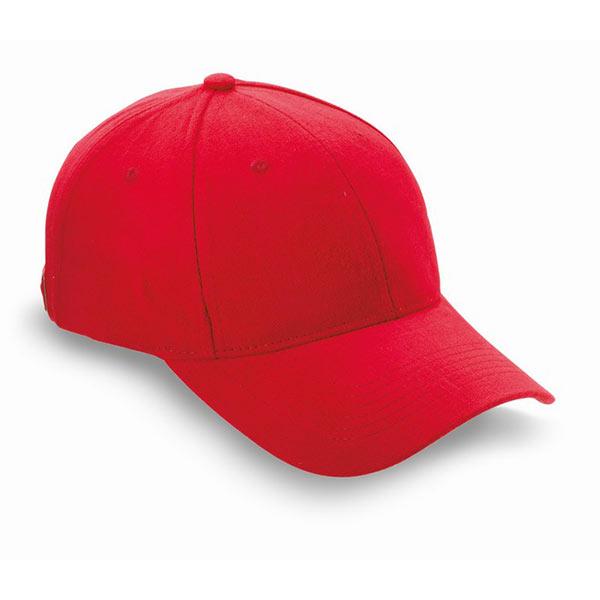 Бейсболка KC1464-05 NATUPRO, красный