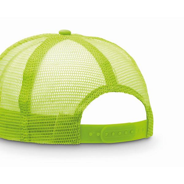 Бейсболка MO8594-68 TRUCKER CAP, флуоресцентный зеленый