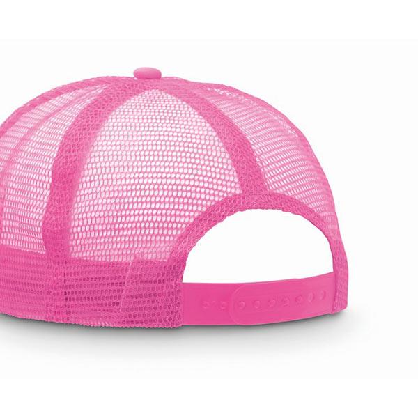Бейсболка MO8594-72 TRUCKER CAP, флуоресцентная фуксия