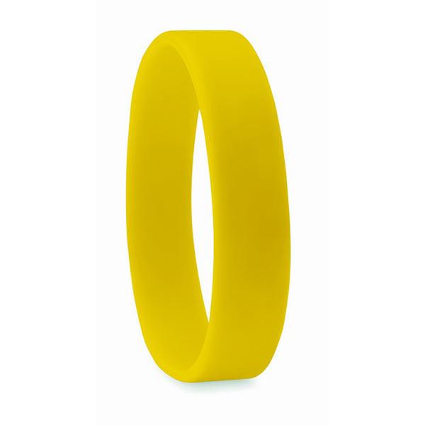 Браслет силиконовый MO8913-08 EVENT, желтый