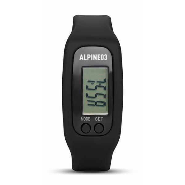 часы-шагомер MO9136-03 BRATARA, черный