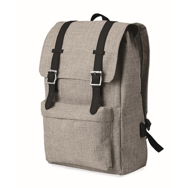 Рюкзак MO9439-07 RIGA, Серый