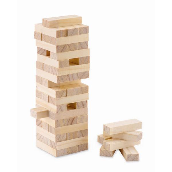 Игра башня в хлопковом чехле MO9574-40 PISA, дерево